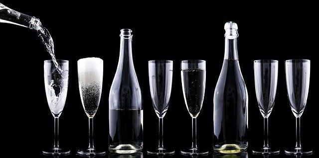 ozdabianie butelek na wesele
