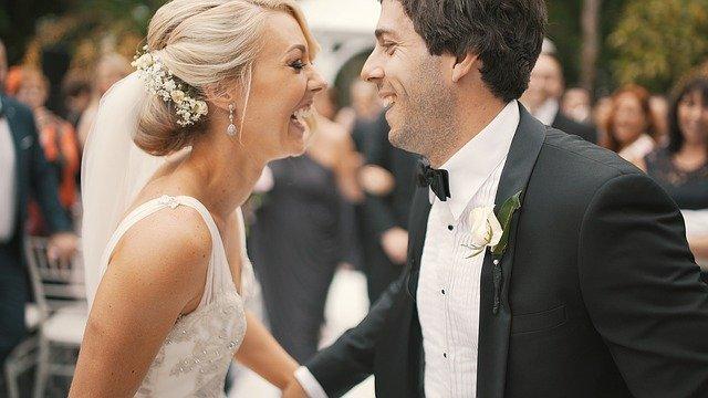 ślub w czerni i bieli